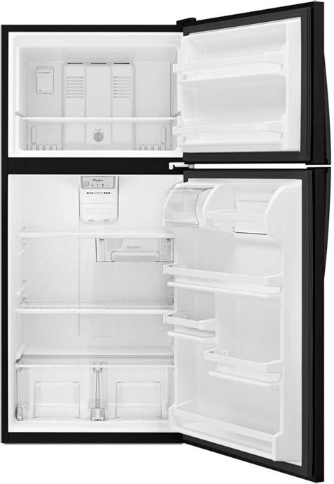whirlpool wrtfzdb   top freezer refrigerator