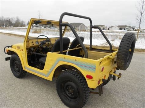 Suzuki Mini Jeep Survivor 1972 Suzuki Lj 20 Jimny 4x4 Mini Jeep Brute