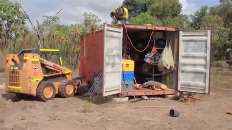 shipping container shed youtube