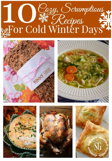 cold recipes 10 cozy scrumptious recipes for cold winter days stonegable