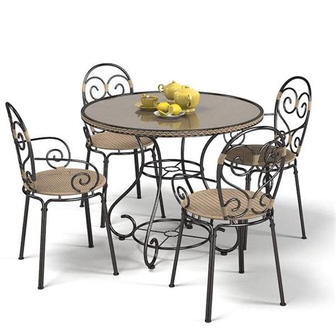 Iron Furniture Wrought Iron Garden Furniture Landscape