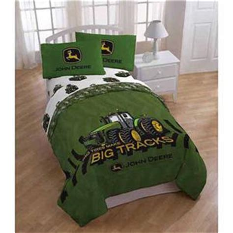 full boys john deere tractor comforter sheets bed in a bag