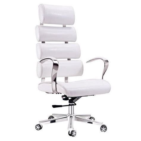 White Leather Office Chair Design Ideas White Leather Desk Chairs Home Design