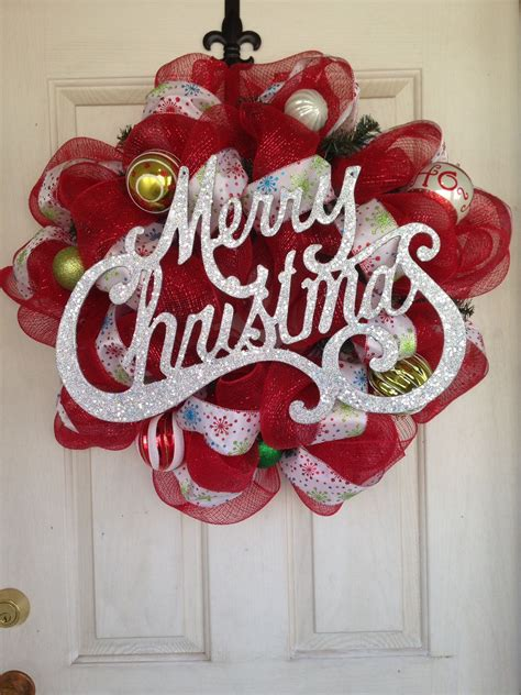 How To Make A Wreath For Front Door Christmas
