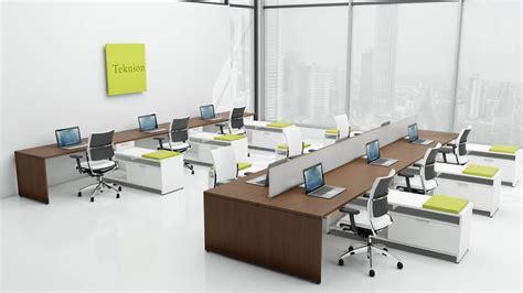teknion benching teknion leverage furniture desking pinterest