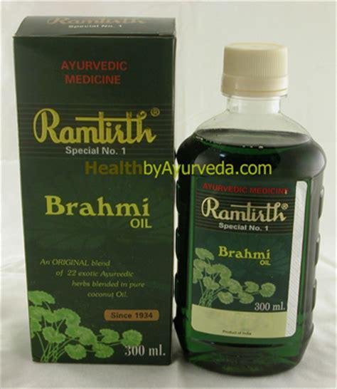 ramtirth brahmi hair oil brahmi oil healthbyayurveda in