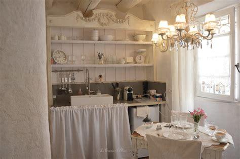 cuisine style romantique le grenier d shabby chic et romantique decor