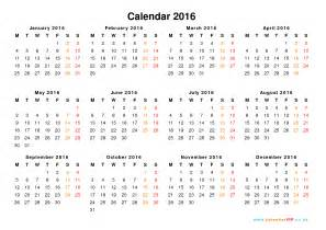2016 Calendar Year Calendar 2016 Uk Free Yearly Calendar Templates For Uk