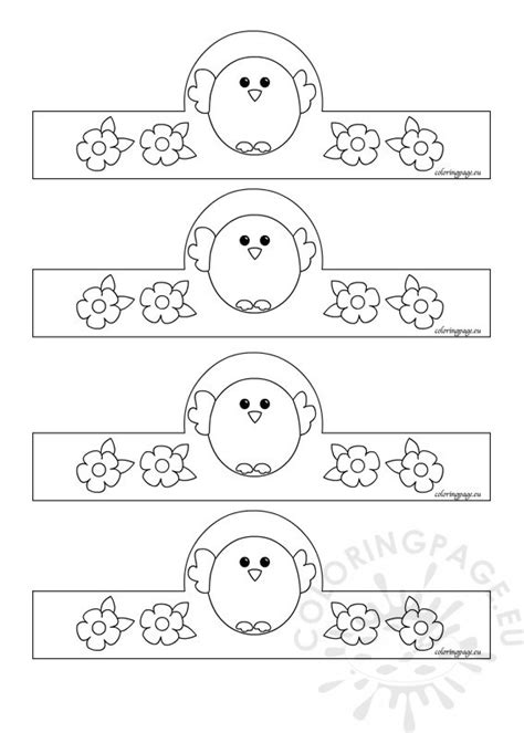 easter egg holder coloring page