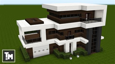 minecraft home interior 2018 minecraft how to build a modern house mansion tutorial easy episode 4 2018