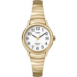Blind Vision Band Maxiaids Timex Ladies Indiglo Watch Exp Band