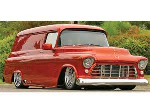 Chevrolet Panel Truck Custom 1956 Chevrolet Ford Panel Trucks Custom Classic