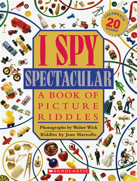 i a book of picture riddles ispy scholastic media room