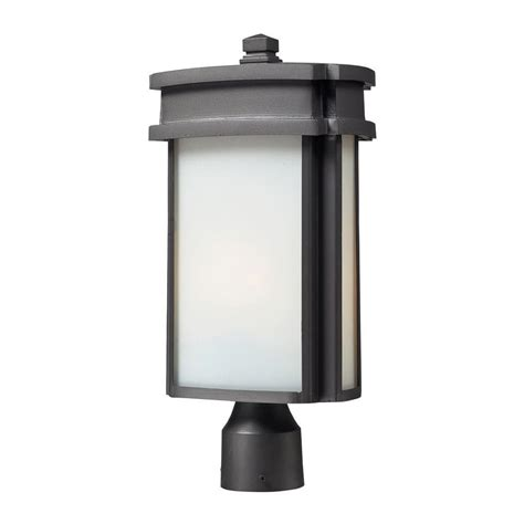 home depot outdoor post lighting rustic post lighting outdoor lighting the home depot