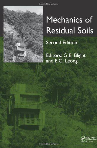 the mechanics of soils and foundations second edition books mechanics of residual soils second edition avaxhome