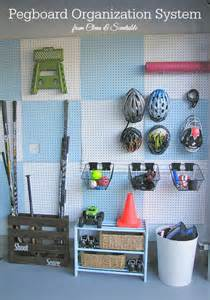pegboard garage garage pegboard organizer
