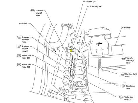 nissan titan trailer wiring diagram 2005 titan left turn signal won t work on trailer 5 flat