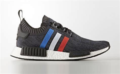 Ads Nmd R1 Tri Colour Black Blue 1 adidas nmd r1 primeknit tri color black sneakerb0b releases