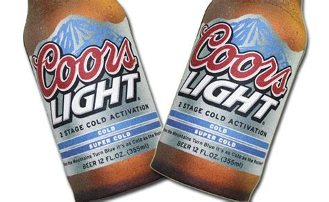 Calories Coors Light by K Telontour Travel The World But S L O W L Y