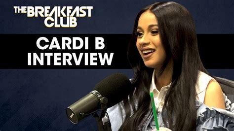 cardi  breakfast club interview hothiphopcom
