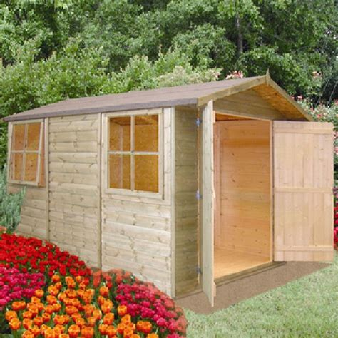 Garden Sheds 10 X 7 by Shire Guernsey Apex Shed 10 X 7 2 97m X 2 05m Elbec