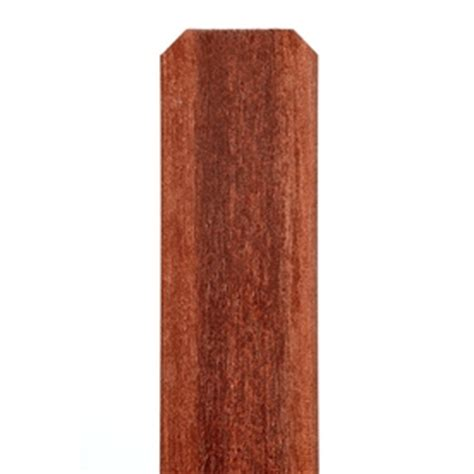 ear fence pickets shop woodshades redwood ear composite fence picket common 0 5 in x 5 in x 69 in