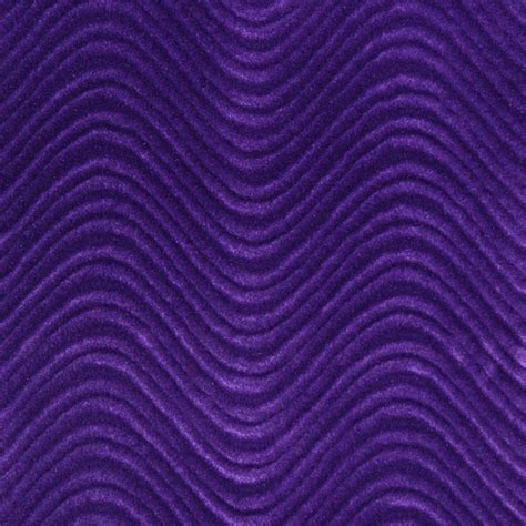 Upholstery Fabric Purple by Purple Soft Velvet Wavy Swirl Upholstery Velvet By The