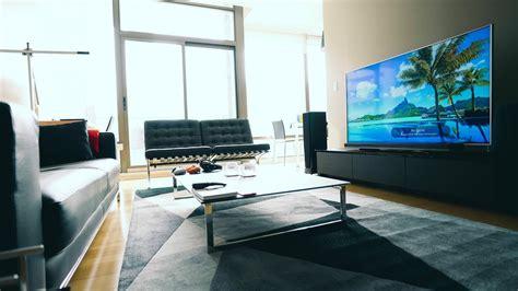 creating the 4k tv living room setup