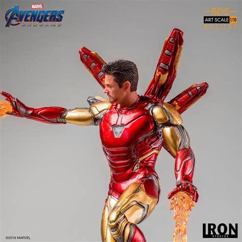 avengers endgame iron man statue iron studios