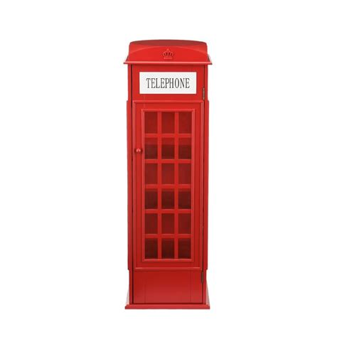 london phone booth cabinet london telephone booth accent storage cabinet display dvd