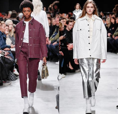 Shiny Fashion Tv The 25 High Challenge Us Edition by Julien David 2016 2017 Fall Autumn Winter Womens Runway