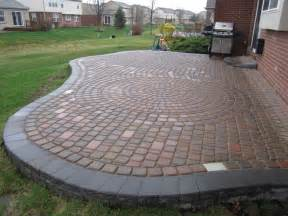 Patio Paver Blocks Brick Pavers Canton Plymouth Northville Arbor Patio Patios Repair Sealing