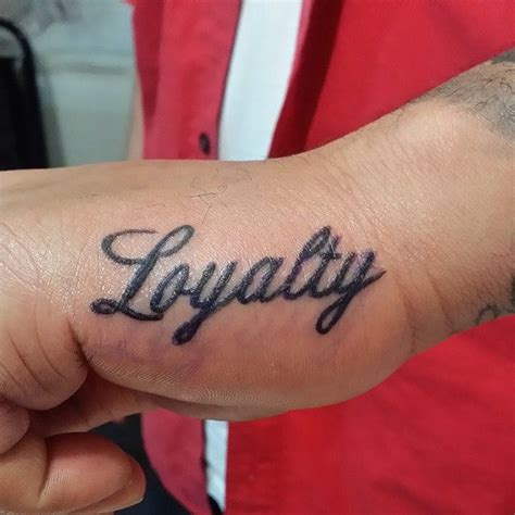 loyalty tattoo on face 20 beautiful loyalty designs courage honor