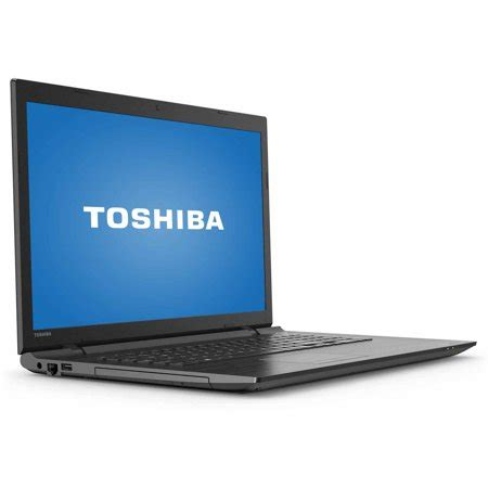 toshiba brushed black 17 3 quot satellite c75d c7224x laptop pc with amd a8 7410 processor