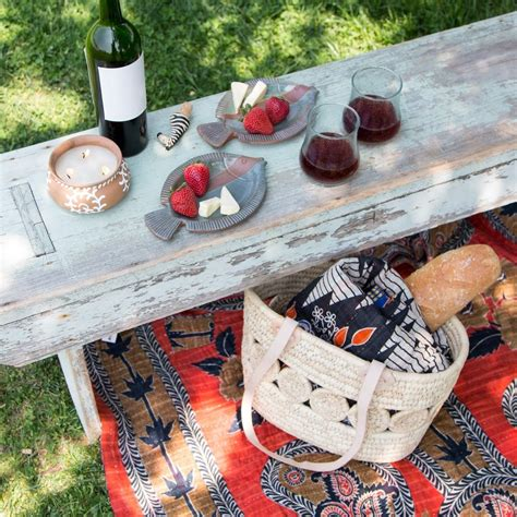 A Fairtrade Picnic With New Consumer by Market Baskets From Around The World Global Gifts