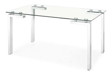 Glass Office Table Glass Top Metal Base Modern Drafting Office Desk With Glass Top