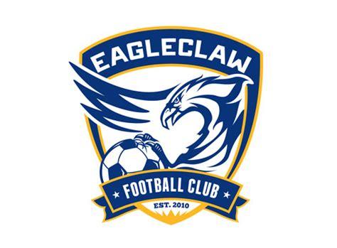 design a club logo eagleclaw football club logo design pixelube