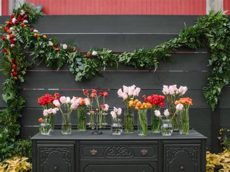 wedding garland  flowers  tos diy