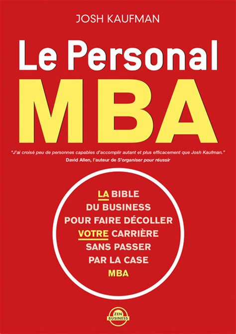 La Mba by Leduc S 233 Ditions Le Personal Mba La Bible Du Business