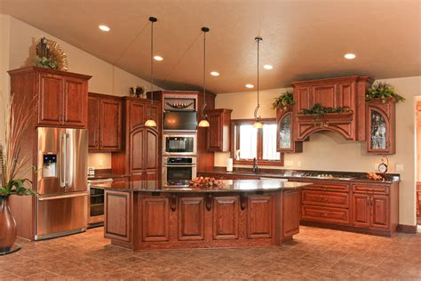 Custom Size Cabinets by Semi White Custom Kitchen Cabinet The Decoras