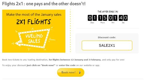 Where 2 Jeep Discount Code Vueling Promo Code Two Flights For The Price Of One