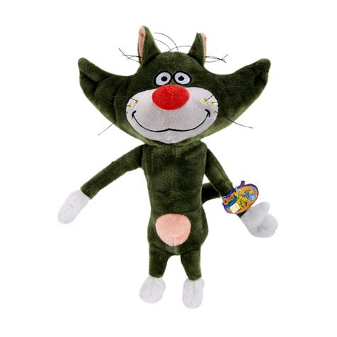 jual oggy and the cockroaches basic plush green