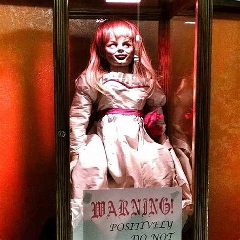 annabelle doll america if horror is your thrill annabelle the doll will be on