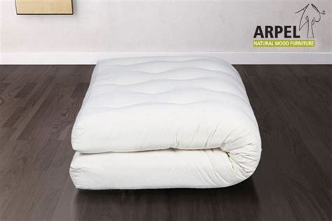 futon bio futon mattress in bio cotton coconut express