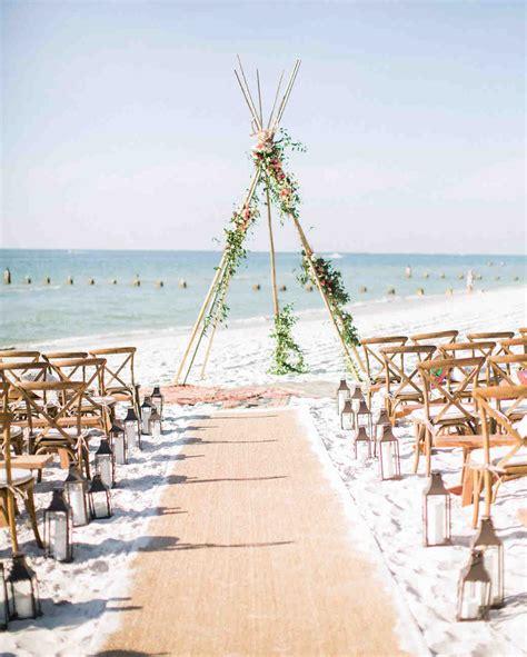 22 ideas for an elevated beach wedding martha stewart