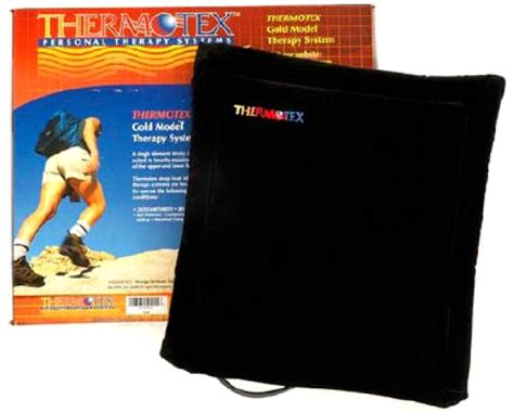 infrared heat l therapy thermotex gold infrared therapy pad