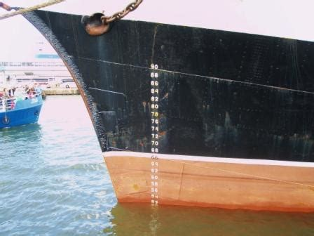 ship draft how to read ship s draft marks