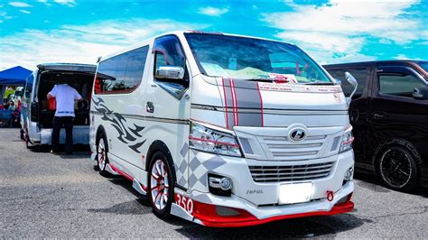 nissan urvan modified hd bodyline nissan urvan nv350 modified ボディラインnv350キャラバン