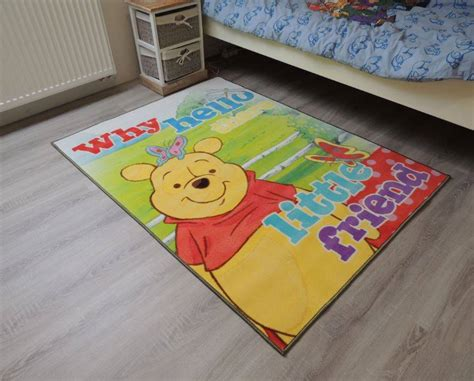 chambre enfant winnie tapis winnie the pooh onlinemattenshop be