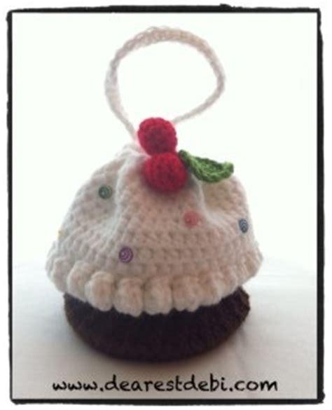crochet pattern cupcake purse crochet cupcake purse dearest debi patterns